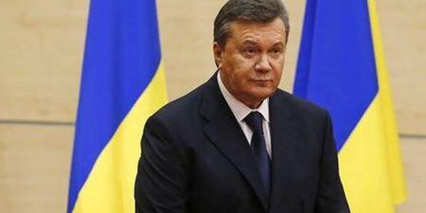 """Ukraine: Ianoukovitch dénonce des forces """"pro-fascistes"""" - La Libre"""
