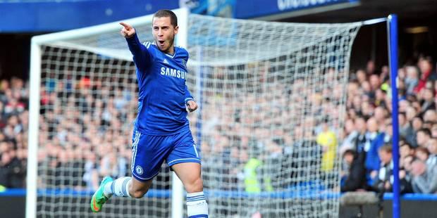 Eden Hazard a disputé son 100e match sous les couleurs de Chelsea - La Libre