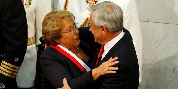 Michelle Bachelet à la tête du Chili pour un second mandat - La Libre