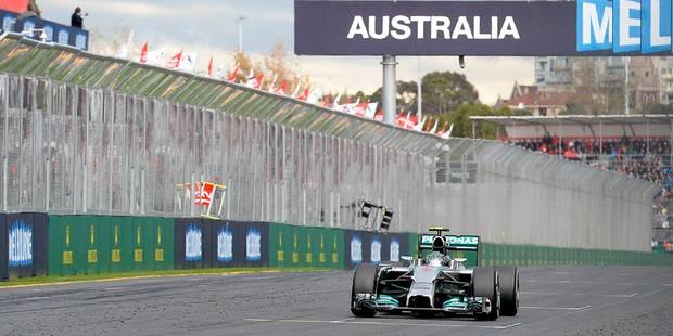 F1: Rosberg remporte le premier Grand Prix de la saison - La Libre