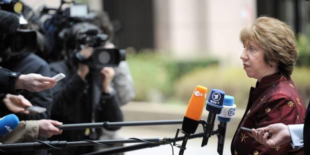 L'UE opposée à un boycott d'Israël, affirme Catherine Ashton - La Libre