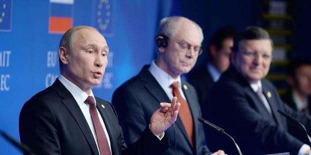 Ukraine: la rencontre entre Van Rompuy et Poutine est annulée - La Libre