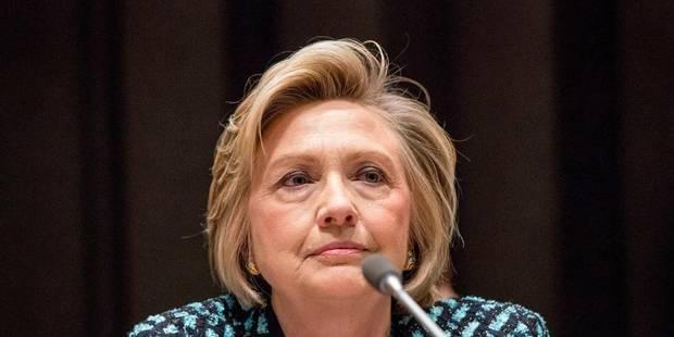 """Clinton: """"J'espère qu'il ne s'agit pas d'une nouvelle Guerre froide"""" - La Libre"""