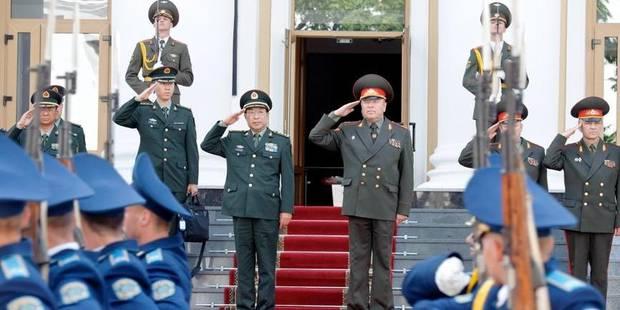 La lutte contre la corruption frappe à la tête de l'armée chinoise - La Libre