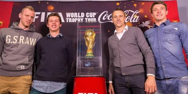 """Timmy Simons: """"Ce trophée de la Coupe du monde est mythique"""" - La Libre"""