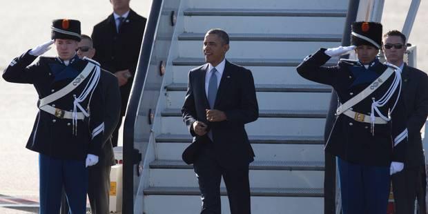 Barack Obama est arrivé sur le sol européen - La Libre