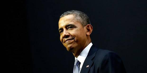 Obama en Belgique, top chrono - La Libre