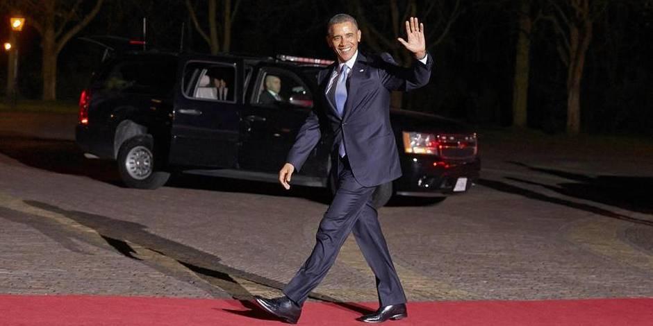 Obama en Belgique: les endroits à éviter (carte) - La Libre