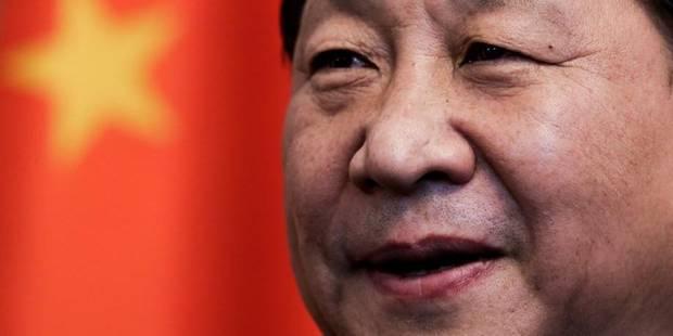 Ces manifestants et banderoles que le président Xi ne veut pas voir - La Libre