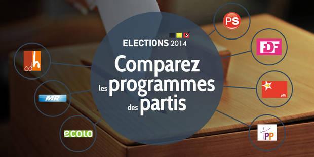 Avant de voter, informez-vous sur les contenus des programmes... - La Libre