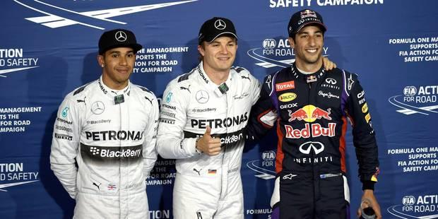 GP de Bahreïn: Rosberg en pole - La Libre