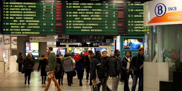Risque de perturbations sur le réseau ferroviaire à Charleroi le 22 avril - La Libre