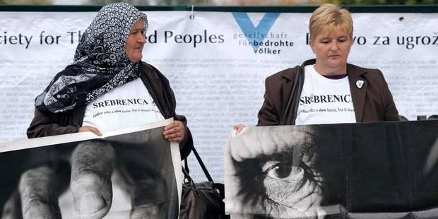 La Haye indemnise les proches de 3 musulmans tués à Srebrenica - La Libre