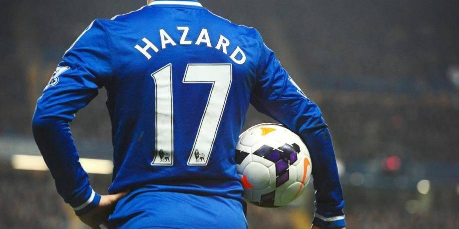 Eden Hazard nominé pour le joueur de l'année en Angleterre
