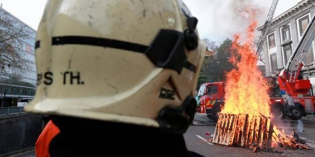 La manifestation des pompiers de Bruxelles reportée au 30 avril - La Libre
