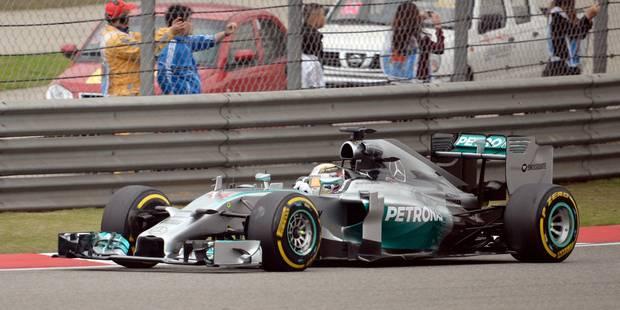 GP de Chine: victoire de Lewis Hamilton, doublé Mercedes - La Libre