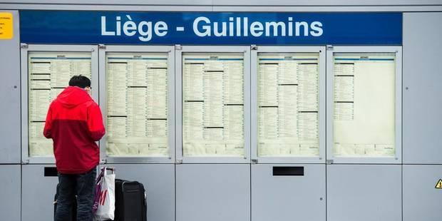 Grève sauvage des conducteurs de trains à Liège - La Libre