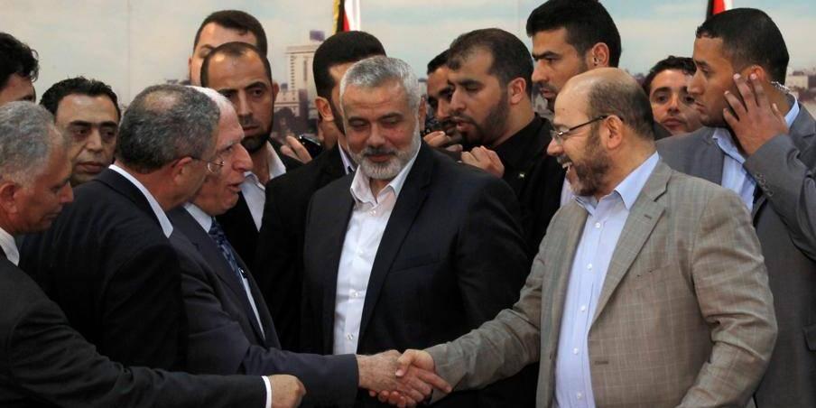 Scènes de liesse à Gaza après l'annonce d'un gouvernement d'union palestinien