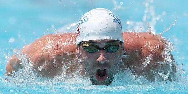 Retour gagnant pour Michael Phelps - La Libre