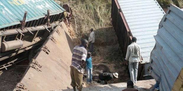 Catastrophe ferroviaire de mardi en RDC: 74 morts (nouveau bilan officiel provisoire) - La Libre