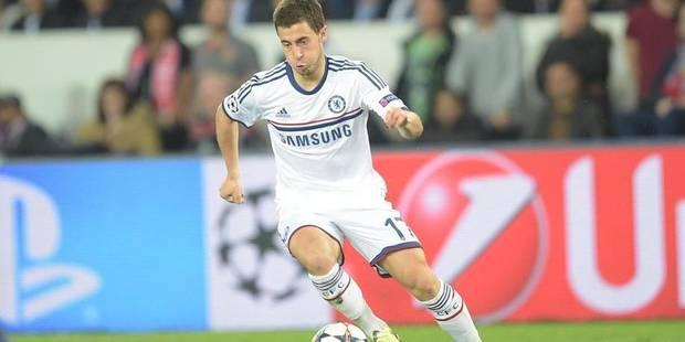 Hazard élu meilleur jeune de Premier League - La Libre