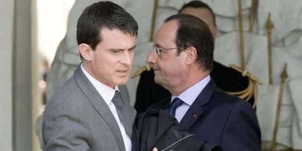 Grand test pour Hollande et Valls ce lundi - La Libre