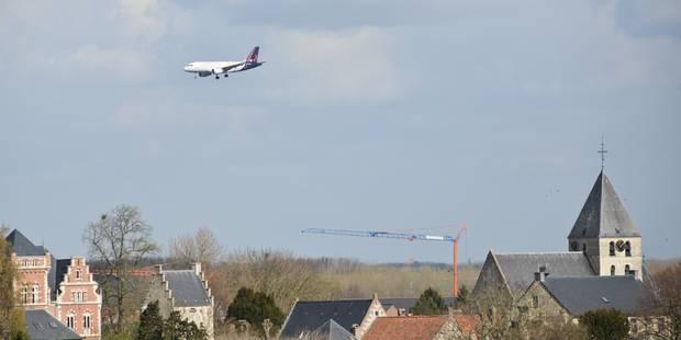 Bruxelles demande de revoir les routes des avions depuis février - La Libre
