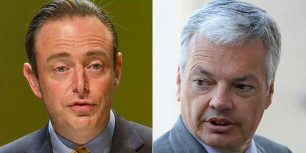 De Wever tacle Reynders et le MR - La Libre