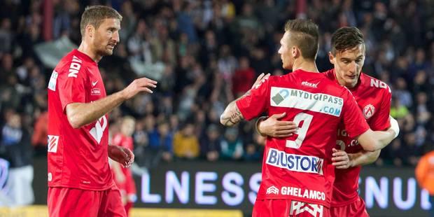 Chevalier fait plier Charleroi et prive les Zèbres de finale (2-1) - La Libre