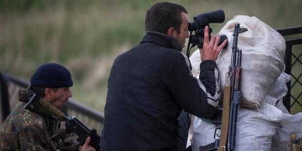 """Ukraine: combats dans l'est, tous les vols """"suspendus"""" à l'aéroport de Donetsk - La Libre"""