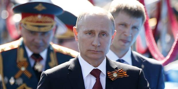 """Poutine en Crimée: """"le retour de la Crimée à la Russie est conforme à la vérité historique"""" - La Libre"""