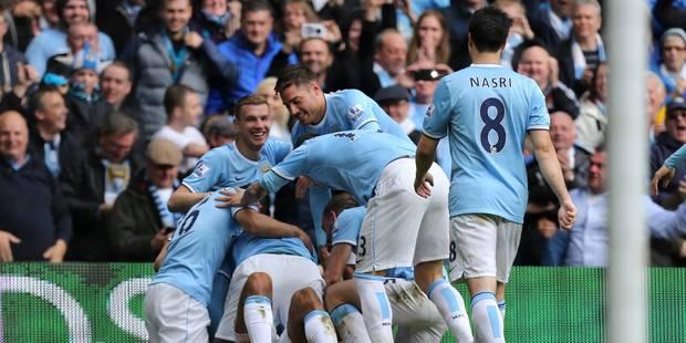 Premier League: Kompany fête le titre par un but! - La Libre