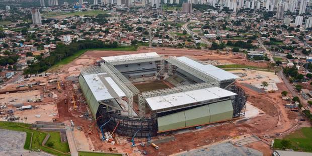 À J-30 du Mondial, le Brésil doit encore terminer 4 stades - La Libre