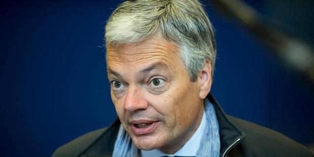 Affaires étrangères piratées: Reynders se refuse (encore) à désigner la Russie - La Libre