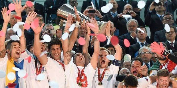 Le FC Séville remporte l'Europa League - La Libre