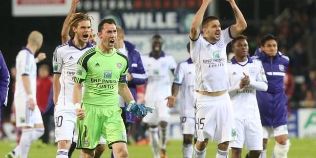 Anderlecht s'ouvre une voie royale vers le titre - La Libre