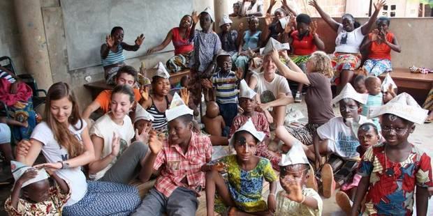 Deux jours au coeur de la brousse avec les jeunes de Theux - La Libre