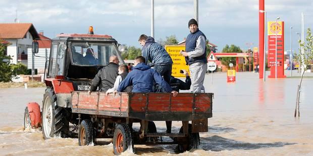 Inondations en Bosnie: la Belgique envoie une mission de B-FAST - La Libre