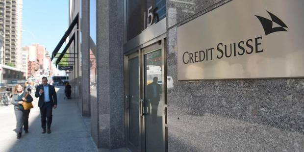 Le Credit Suisse inculpé d'aide à l'évasion fiscale - La Libre