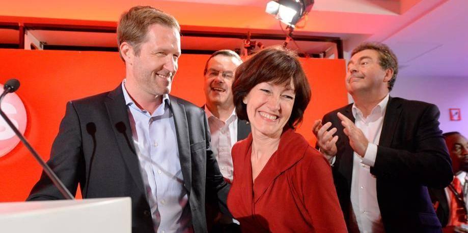 Bruxelles: Le PS en tête, le FDF 3e