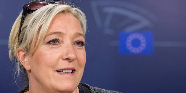 2.000 manifestants contre Marine Le Pen à Bruxelles - La Libre