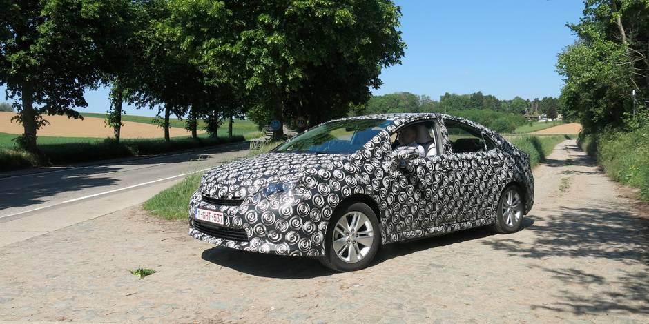 Toyota teste sa voiture à hydrogène en Belgique - La Libre