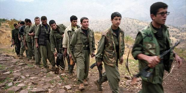 Le PKK dispense des entraînements depuis la Belgique - La Libre