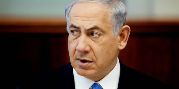 Netanyahu appelle à ne pas reconnaître le futur gouvernement palestinien - La Libre