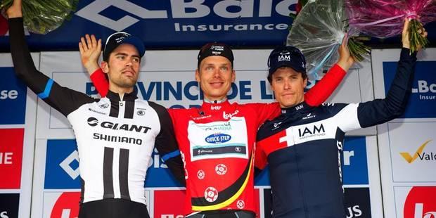 Tour de Belgique : victoire finale de Tony Martin - La Libre