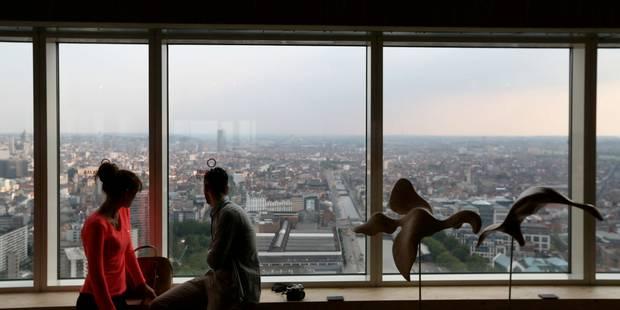La plus haute tour de logements de Belgique ouvre à Bruxelles - La Libre