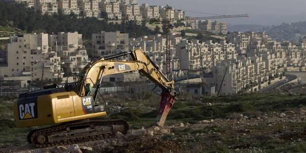 Israël accélère la colonisation et provoque la colère des Palestiniens - La Libre