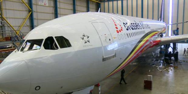 Un avion décoré aux couleurs de la Belgique pour transporter les Diables au Brésil - La Libre