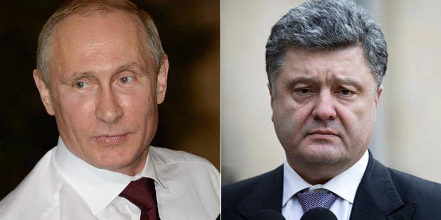 Normandie: première rencontre entre Poutine et Porochenko - La Libre