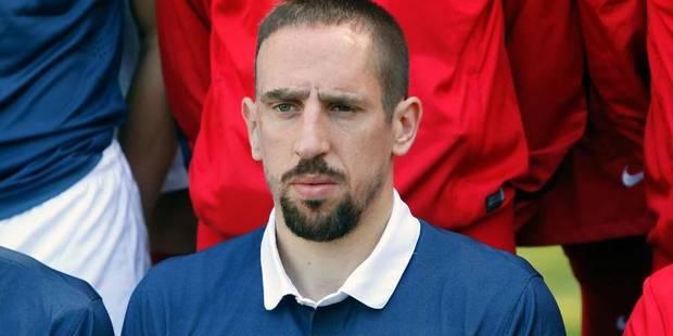 Franck Ribéry n'accompagnera pas les Bleus au mondial! - La Libre